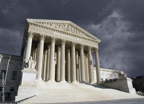 Supreme Court Washington DC Storm