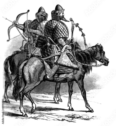 Russian Warriors - 16th century