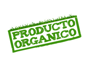 Organic Product sign in Spanish