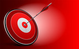 Target and Arrow, Vector Business background