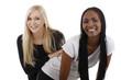 Afrikanerin und Europäerin - african and european woman