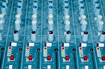 Soundboard closeup