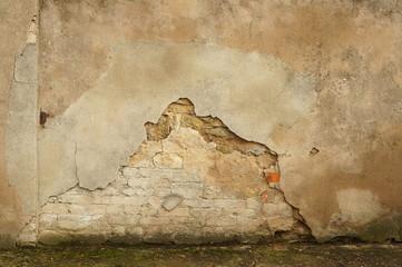 Abbröckelnde Fassade