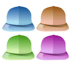 Lot de casquettes