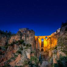 Le village de Ronda, en Andalousie, Espagne