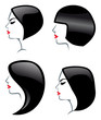 Hair Styles icons