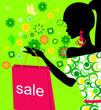 Spring girl on sale