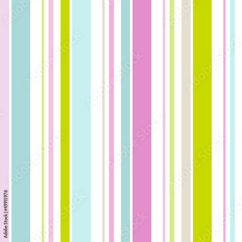 Seamless Pattern Retro Stripes Pastel