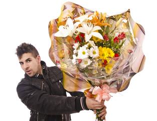 Ramo de flores para tí, mi amor.