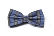 Close-up of blue bow-tie