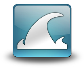 "Light Blue 3D Effect Icon ""Tsunami"""