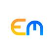 E. M. Company Logo