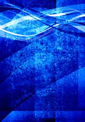 blue textured graphic