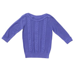 Lilac sweater isolated