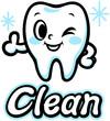 歯のキャラクター(Clean)