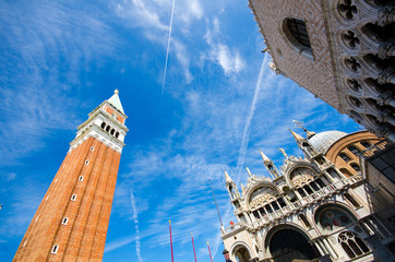 Saint Mark square in Venice Italy