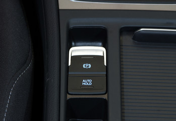 electric parkbrake button and autohold