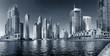 DUBAI, UAE - OCTOBER 23: View of the region of Dubai - Dubai Mar