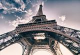 Colors of Sky over Eiffel Tower, Paris