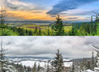 Panoramic landscapes - 2 seasons