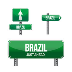 brazil Country road sign