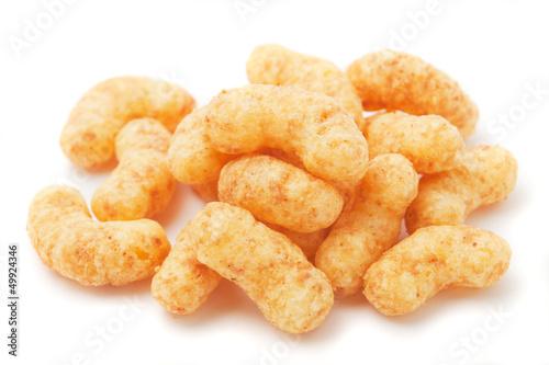 Peanut flips snack