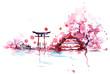 Leinwanddruck Bild - Japan