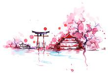 "Постер, картина, фотообои ""Japan"""