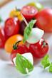 bunter tomatenteller