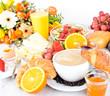 Gesundes, leckeres, vielfältiges Frühstück