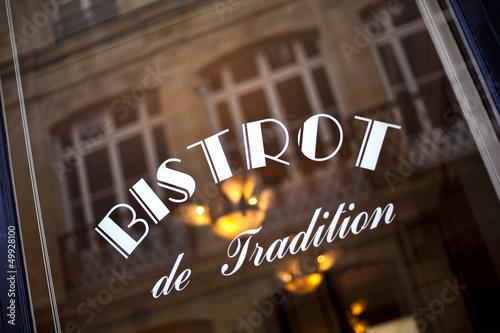 Papiers peints Situation Café, bar, bistrot, restaurant, vitrine, français, rétro, france