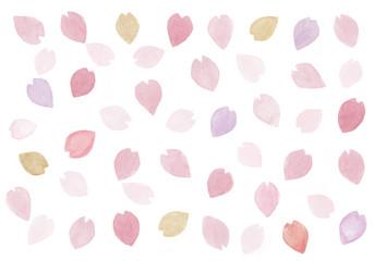 桜の花びらの模様