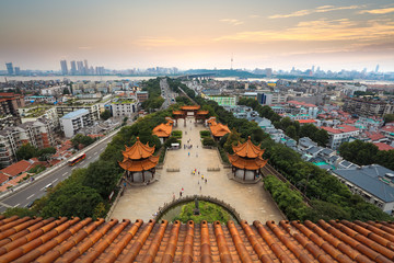 wuhan city panorama