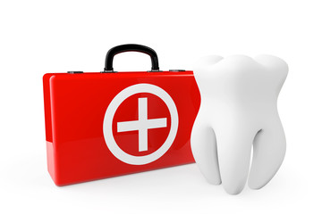 A Tooth and a First Aid Case
