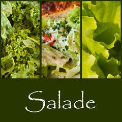 composition salade