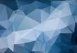 Light Blue Geometric background vector eps 10