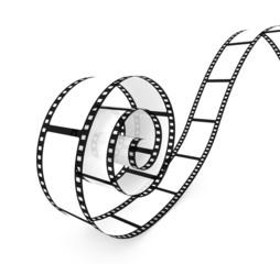 abrollender Filmstreifen