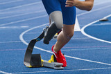 handicapped sprinter