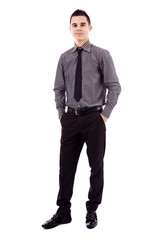 Businessman in full length