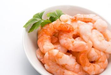 Gamberetti, closeup - Shrimps, closeup