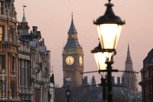 canvas print picture Big Ben at Dawn
