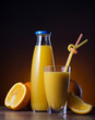 refreshing orange juice