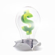 dollar idea. With lamp move up from torn paper