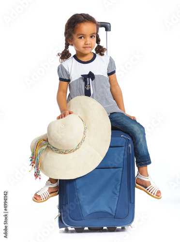 Girl Going On Vacation
