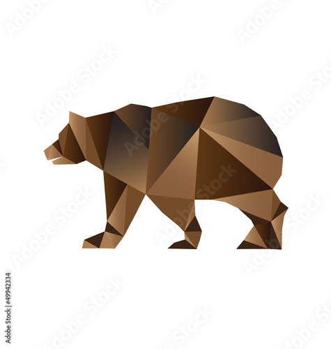 Bear triangles style