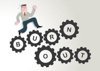 Burnout, Stress, workaholic, Gesundheit, Symbolbild