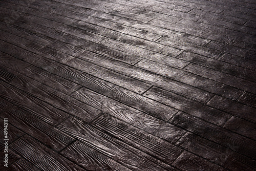 wood-like pavement