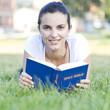 latin woman reading bible
