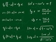 Trigonometry education - mathematics on a blackboard