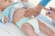 Hydratation avec massage du ventre
